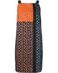 OSMAN | Embroidered Jacquard Dress | Lyst