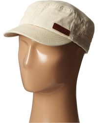 Roxy Locals Only Canvas Military Hat - Lyst
