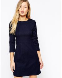 Oasis Denim Shift Dress - Lyst