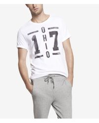 Express Graphic Tee Ohio 17 - Lyst
