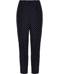 Tibi | Diffusion Polka Dot Pleated Pants | Lyst