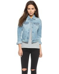 AG Adriano Goldschmied Robyn Jacket - Sea Glass - Lyst