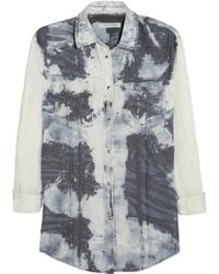 Pierre Balmain Printed Cotton Shirt - Lyst
