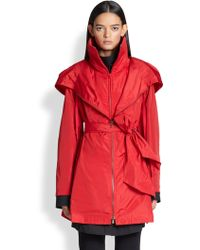Donna Karan New York Packable Anorak - Lyst