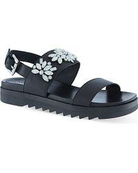 Carvela Kurt Geiger Kamilla Bead-Embellished Sandals - For Women black - Lyst