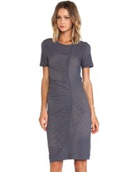 Marc By Marc Jacobs Jamie Stripe Jersey Dress - Lyst