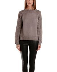 Helmut Lang Pullover Cord Sweater - Lyst