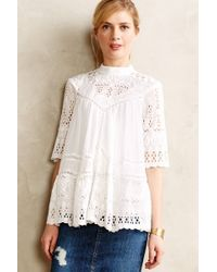 Zimmermann Chaine Peasant Top - Lyst