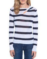 A.L.C. Robinson Sweater blue - Lyst
