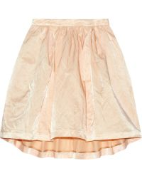 Elizabeth And James Joan Satinvoile Skirt - Lyst