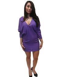 Boulee Skyler Open Back Mini Dress - Lyst