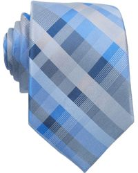 Perry Ellis Sardinia Plaid Slim Tie - Lyst