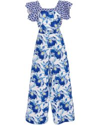 Temperley London | Marybell Ruffle Dungarees | Lyst