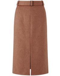 Jigsaw - Split Hem Pencil Skirt - Lyst