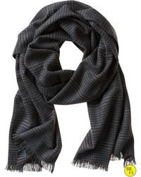 Banana Republic Factory Houndstooth Scarf brown - Lyst