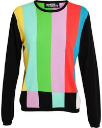 Jeremy Scott Colour Bar Knitted Jumper - Lyst