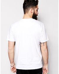 WÅVEN - T-shirt Square Front Print - Lyst