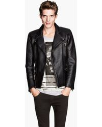 Jackets Men S Leather Jackets Bomber Amp Blazers Lyst