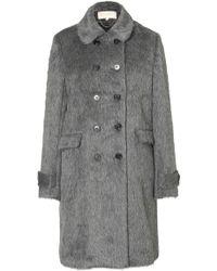 Vanessa Bruno Alpaca-Wool Haberdasher Coat - Lyst