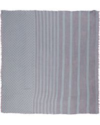 Oblique - Square Scarf - Lyst