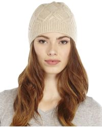 Forte - Cashmere Wondering Cable Knit Hat - Lyst