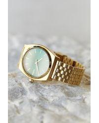 Nixon Time Teller Green Sunray Watch - Lyst