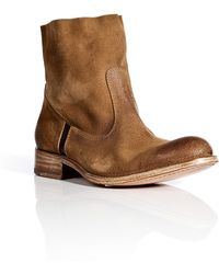 NDC Leather and Suede Softy Boot - Lyst