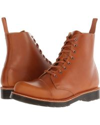 Dr. Martens Charlton 8-Eye Toe Cap Boot - Lyst