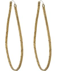 K/ller Collection - Cobra Chain Hoop Earrings - Lyst