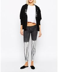 Cheap Monday Spray On Skinny Jeans In Drip - Lyst