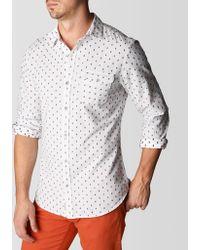 True Religion Single Pocket Dobby Mens Shirt - Lyst