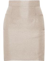 Teatum Jones | Ivy Metallic Cloqué Mini Skirt | Lyst