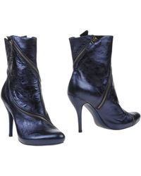 Alexander McQueen   Ankle Boots   Lyst
