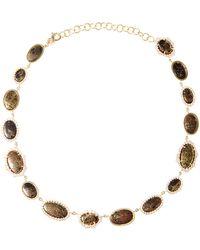 Kimberly Mcdonald One Of A Kind Apache Gold and Irregular Diamond Bezel Necklace - Lyst