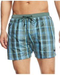 Hugo Boss Boss Catshark Swim Trunks - Lyst