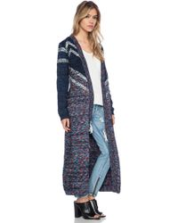 Mink Pink Cottage Point Cardigan - Lyst