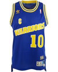 Adidas Tim Hardaway Golden State Warriors Swingman Jersey - Lyst