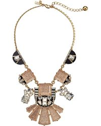Kate Spade Imperial Tile Statement Necklace - Lyst