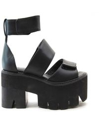 Jeffrey Campbell Warlock in Black - Lyst