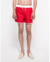 Native Youth Block Color Swim red - Lyst