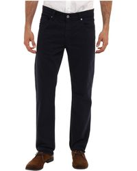 Ag Adriano Goldschmied The Graduate Tailored Leg Sud Pant Twill in New Navy - Lyst
