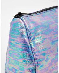 ASOS - Metallic Make Up Bag - Lyst