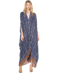 Rodebjer - Drop Print Caftan Maxi Dress - Lyst