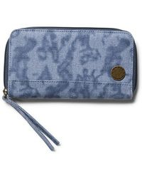 Volcom - 'outta Town' Zip-around Wallet - Lyst