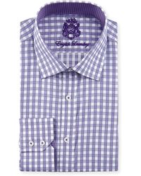 English Laundry Plaid Dress Shirt - Lyst