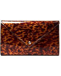 Givenchy Tortoise Patent Shoulder Bag - Lyst