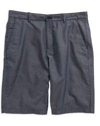 Calvin Klein Textured Shorts blue - Lyst