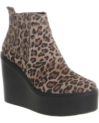 Office Flame Wedge Ankle Boot - Lyst