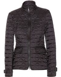 Burberry Brit - Quilted Jacket - Lyst