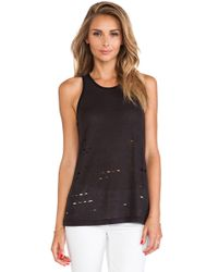 Sanctuary Slash Racer Tank - Lyst